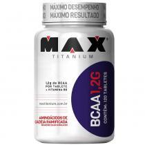 BCAA 1,2g 120 Tabletes - Max Titanium - Natural - Max Titanium