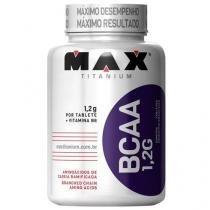 BCAA 1,2G c/ Vitamina B6  - 120 tabletes - Max Titanium -