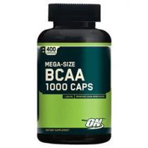 BCAA 1000 400 cápsulas Mega Size - Optimum Nutrition