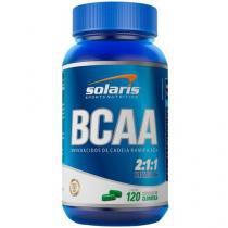 BCAA 2:1:1 Vitamina B6 120 Cápsulas - Solaris Nutrition
