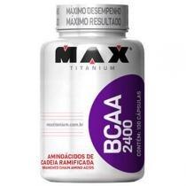 BCAA 2.400 100 Cápsulas - Max Titanium -