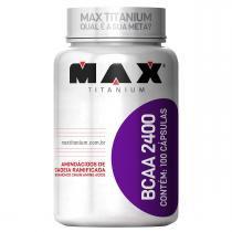 BCAA 2400 100 cáps - Max Titanium - Max Titanium