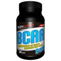 BCAA 2400 100 Cápsulas - Body Action