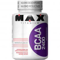 BCAA 2400 - Max Titanium - 200 cápsulas -