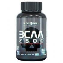 BCAA 2500 - 120 Cápsulas - Black Skull - Black Skull