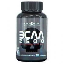 BCAA 2500 - 60 Cápsulas - Black Skull - Black Skull
