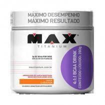 Bcaa 4:1:1 Drink 280G Max Titanium - Aminoacidos -