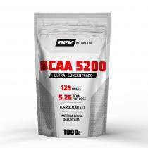 BCAA 5200 em pó - 1000g - Rev Nutrition - Tangerina -