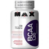 BCAA com 120 Tabletes (1,2g cada) - Max Titanium