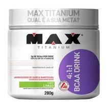 BCAA Drink 280g Limão Max Titanium -