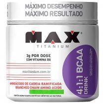 Bcaa Drink 280g Limão Max Titanium - Max Titanium