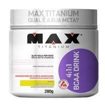 BCAA Drink 280g Maracujá Max Titanium -