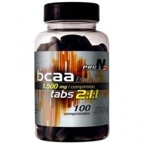 BCAA Essential 1500Mg 100 Comprimidos - ProN2