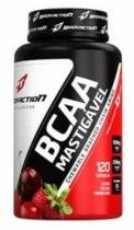 BCAA Mastigável Body Action - 120 tabletes - Frutas Vermelhas - Body Action