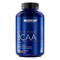 BCAA Max 8.1.1 120 Cápsulas USA Midway - Midway Labs