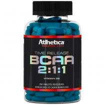 Bcaa Time Release 2:1:1 - Evolution Series - 200 Tabletes - Atlhetica - Atlhetica