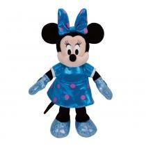 Beanie Babies Minnie Mouse Azul - DTC - DTC