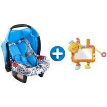 Bebê Conforto Burigotto 4 Posições Touring - Evolution + Meu Primeiro Espelho Baby Fehn