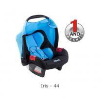 Bebê conforto Burigotto Touring Evolution azul iris  Para crianças até 13kg -