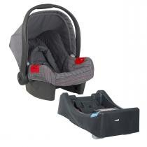 Bebê Conforto Burigotto Touring Evolution SE com Base - New Silver Rosa - Burigotto