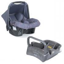 Bebê Conforto Burigotto Touring SE com Base - New Silver Rosa -