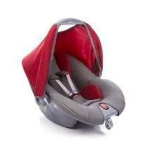 Bebê Conforto P/ Carro Cinza/vermelho Até 13kg Voyage -
