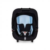 Bebe conforto Protek G0+ preto / azul bb xadrez - Protek