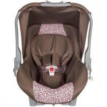 Bebe conforto tutti baby nino marrom e rosa onca 0 a 13kg -