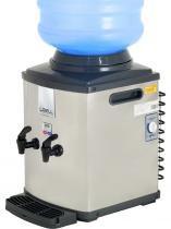Bebedouro de agua refrigerado para galao mini inox - 127v. - libell - Libell