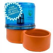 Bebedouro para Cachorros Filtro com Vela Acquapet Azul 4 Litros - Acquapet