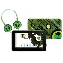 Ben 10 - Tablet Android com Headphone - Candide - Ben 10