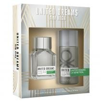 Benetton United Dreams Aim High Kit - Eau de Toillete + Desodorante - Benetton