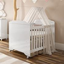 Berço/Cama 3 Níveis de Altura Carolina Baby - Mel