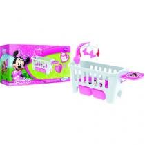 Berço Disney Minnie Mouse Bow-tique  - com Móbile Musical - Xalingo