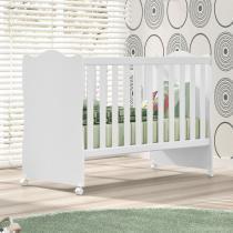 Berço Infantil Branco 1r33 - Rodial Móveis