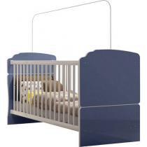 Berço/Mini cama Grade Fixa 2 níveis de Altura - Completa Móveis