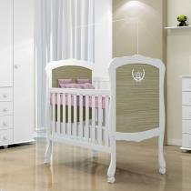 Berço Mini Cama Maria Fernanda Real  - Tigus Baby - TIGUS BABY