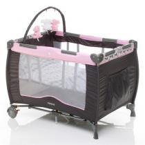 Berço Portátil Toybar, para bebês, NBR Rosa com Ursinhos - C66 - Cosco
