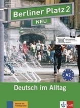 Berliner platz 2 neu - lehr-und arbeitsbuch 2 mit 2 audio-cds - ne - Klett  langenscheidt