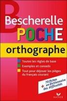 Bescherelle - poche orthographe - 9782218933936 - Didier/ hatier