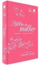 Biblia da Mulher 2 Coracao de Deus - Pinkbranca - Hagnos