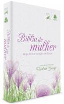 Biblia Da Mulher Segundo O Coracao De Deus - Capa Com Tulipa Roxa - Hagnos