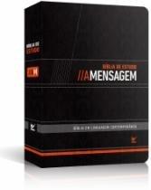 Biblia De Estudo A Mensagem Capa Luxo Preto - Vida - 952698