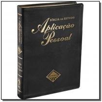 Biblia de estudo - aplic.pessoal - gd. luxo preta - Cpad