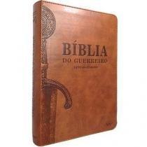 Biblia Do Guerreiro Letras Grandes - Marrom Cafe - Agape - 953193