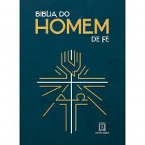 Biblia do Homem de Fe - Editora santuario