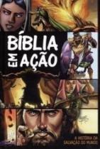 Biblia Em Acao - Estampa Unica - Capa Dura - Geografica - 1