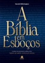 Biblia em esbocos, a - Hagnos