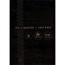 Biblia Nvi Portugues Ingles - Luxo Preta - Vida - 952698