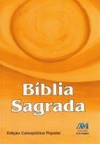 Biblia Sagrada Catequetica Popular Bolso - Ave Maria - 1